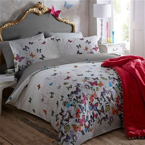 Bedroom Lighting Debenhams by Mw By Matthew Williamson Light Grey Butterflies Bedding