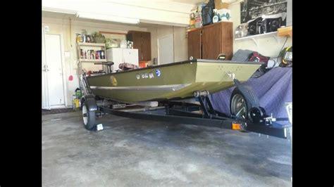 Mod V Jon Boat Trailer by My 12 Ft Jon Boat Modifications