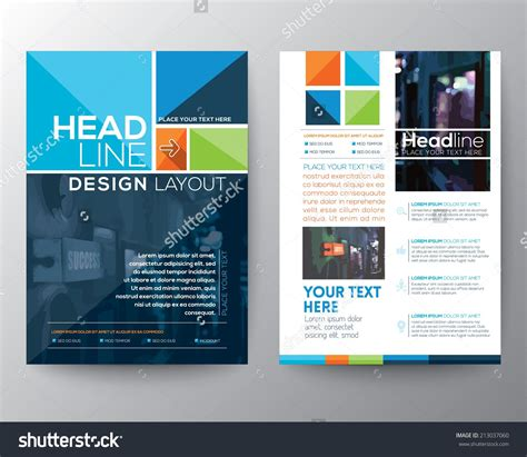 Brochure Size Template Vector Brochure Flyer Design Layout Template In A4 Size
