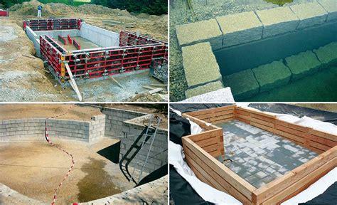 Schwimmteich Selbst Bauen schwimmteich bauen teich anlegen bild 25 selbst de