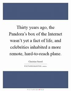 Thirty years ago, the Pandora's box of the Internet wasn't ...