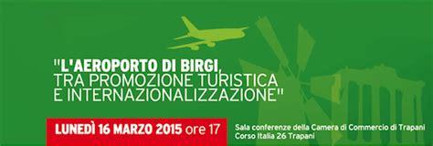 lunedi  marzo  incontro sul futuro dellaeroporto  birgi
