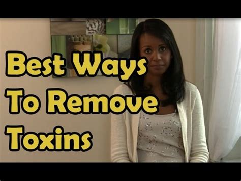 best way to remove toxins from jovanka ciares youtube