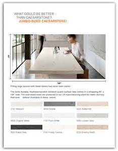 Kitchen Boston Ma by Caesarstone Now Offers Jumbo Size Slabs Dbs Lumber