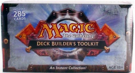 magic the gathering deck builders toolkit box 2010 da