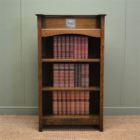 Craft Bookcase by Small Arts Crafts Antique Oak Open Bookcase Antiques World