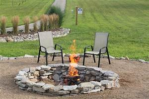 How, To, Create, A, Beautiful, Inexpensive, Backyard, Fire, Pit