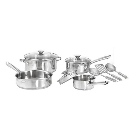 a source for similar stainless wearever cook and strain 10 piece stainless steel cookware