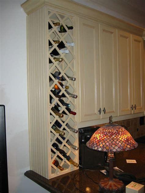 kitchen wine rack idea   dont    storagespace    dozen bottles
