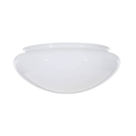 replacement glass shade for 6 inch flushmount