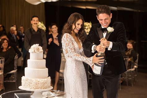 Lia & Joe's Classic Black Tie City Wedding