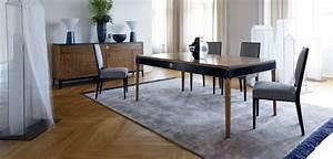 claridge table de repas collection nouveaux classiques With tapis de yoga avec canapé convertible la roche bobois