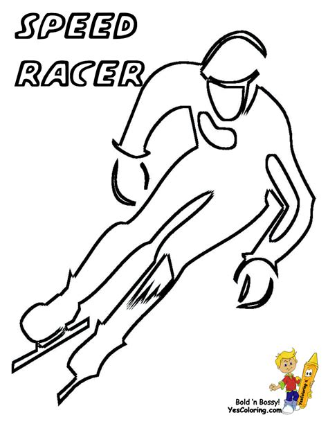 Speed Racer 18 Coloring Page - Free Speed Racer Coloring Pages ... | 612x474