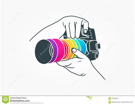 photography logo camera concept design