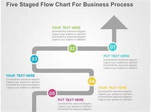 Award Winning Strategy Slides Showing Five Staged Flow