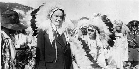 calvin coolidge didnt understand  native