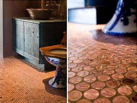 Kitchen Floor Of Pennies by Top 10 Ways In Which You Can Use Pennies