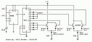 Led Traffic Lights Circuit