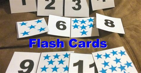 Diy Number Flash Cards For Toddlers And Printable  First Time Mom And Losing It