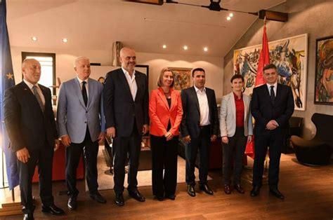 Mogherini sa liderima Z. Balkana 29. oktobra u Briselu ...