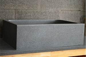 Evier Cuisine Granit : vier de cuisine sous plan en granit v ritable 70x47 walabi ~ Premium-room.com Idées de Décoration