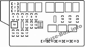 Fuse Box Diagram Lexus Is250    Is350  Xe20  2006