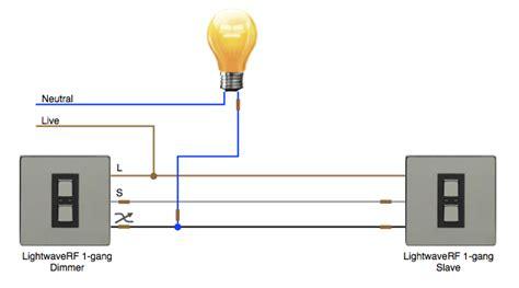Apnt Way Lighting Using Lightwaverf Dimmers Vesternet