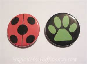 Ring Miraculous Ladybug and Cat Noir