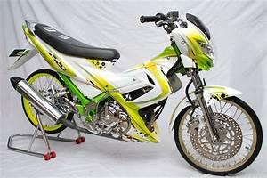 Modification Suzuki Satria Fu 150