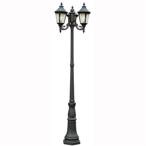 bel air lighting way 3 light outdoor black post