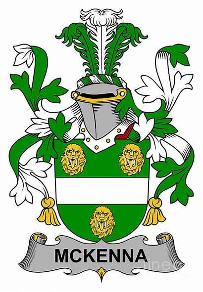 Mckenna Arms Coat Irish Heraldry Digital 11th