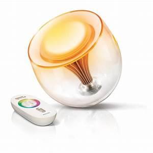 Lampe Philips Living Colors : philips livingcolors translucent changing led lamp ~ Dailycaller-alerts.com Idées de Décoration
