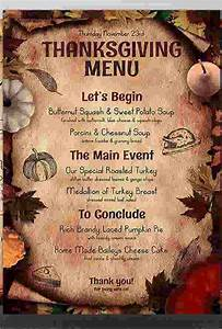 8  Dinner Party Menu Templates