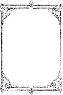 gothic page borders - Google Search | Bos | Pinterest