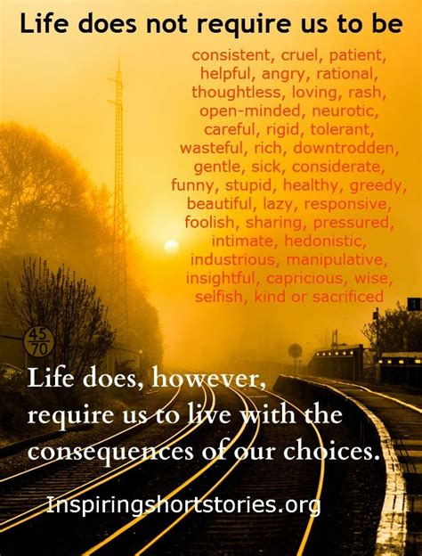 life quotes inspirational quotes choice quotes