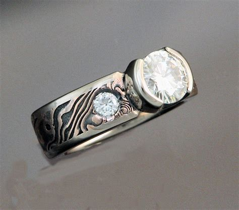 Diamond Peak Goldsmiths  Mokume Gane  Roseshakudo. Supergirl Wedding Rings. Plain Wedding Rings. Round Cut Engagement Rings. Zuni Rings. Strawberry Rings. Rare Earth Wedding Rings. Korean Wedding Rings. Spacer Rings