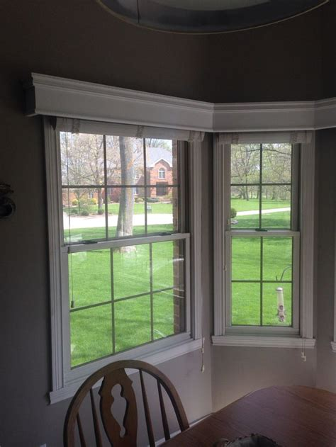 cornice boards  bay window  kitchen nook  images