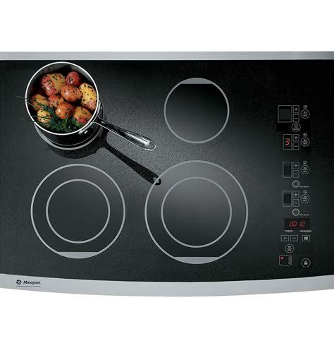 ge monogram  digital electric cooktop zeursfss ge appliances