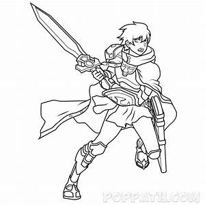 Cool Anime Warrior Drawings | www.pixshark.com - Images ...