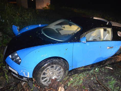 These Bugatti Veyron Car Crash Photos Will Make You Want