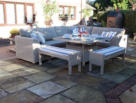 sofa dining set garden furniture dining room outdoor dining set idea by the pond