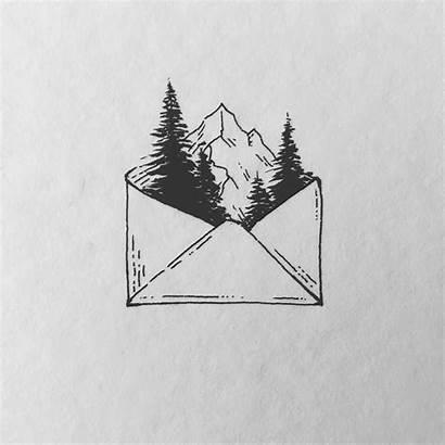 Drawings Zeichnen Ideen Zeichnungen Nice Envelope Drawing