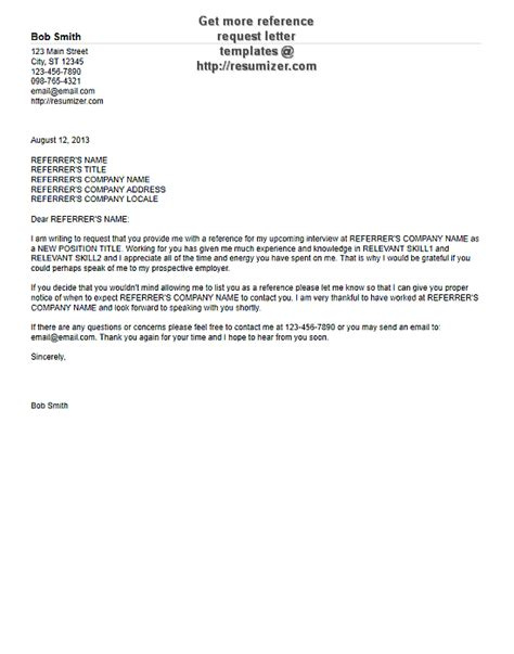 ask for reference letter template for asking for a letter of recommendation best 20513 | Template For Asking For A Letter Of Recommendation