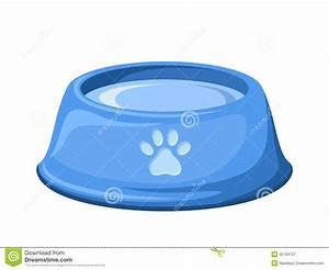 Dog Water Bowl Clipart