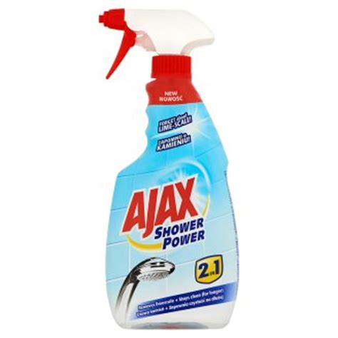 ajax bathroom cleaner coles ajax shower power 2in1 general cleaner 500 ml tesco