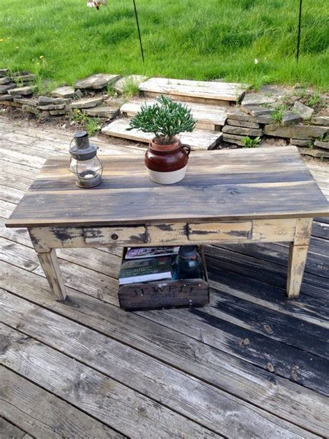 Modern interior designs with rustic coffee table ideas must be super clean, minimalistic and futuristic. Antique Rustic Coffee Table by Antique2Chic on Etsy | Rustic coffee tables, Coffee table, Table