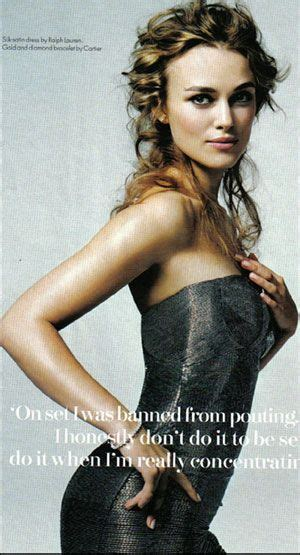 Vanity Fair Keira Knightley by Keira Knightley Posed For Vanity Fair With