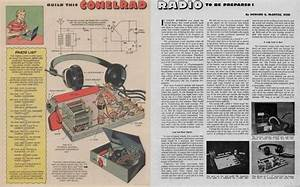 1956 Boys U0026 39  Life Conelrad Receiver   Radiohistory  With