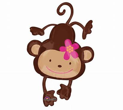 Monkey Balloons Clipart Clip Shower Balloon Anime