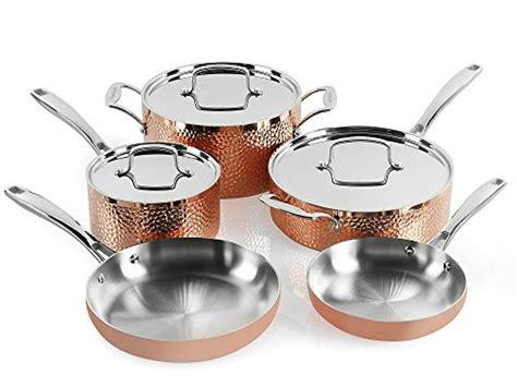 cuisinart hctp  hammered copper set  piece homestuffonly